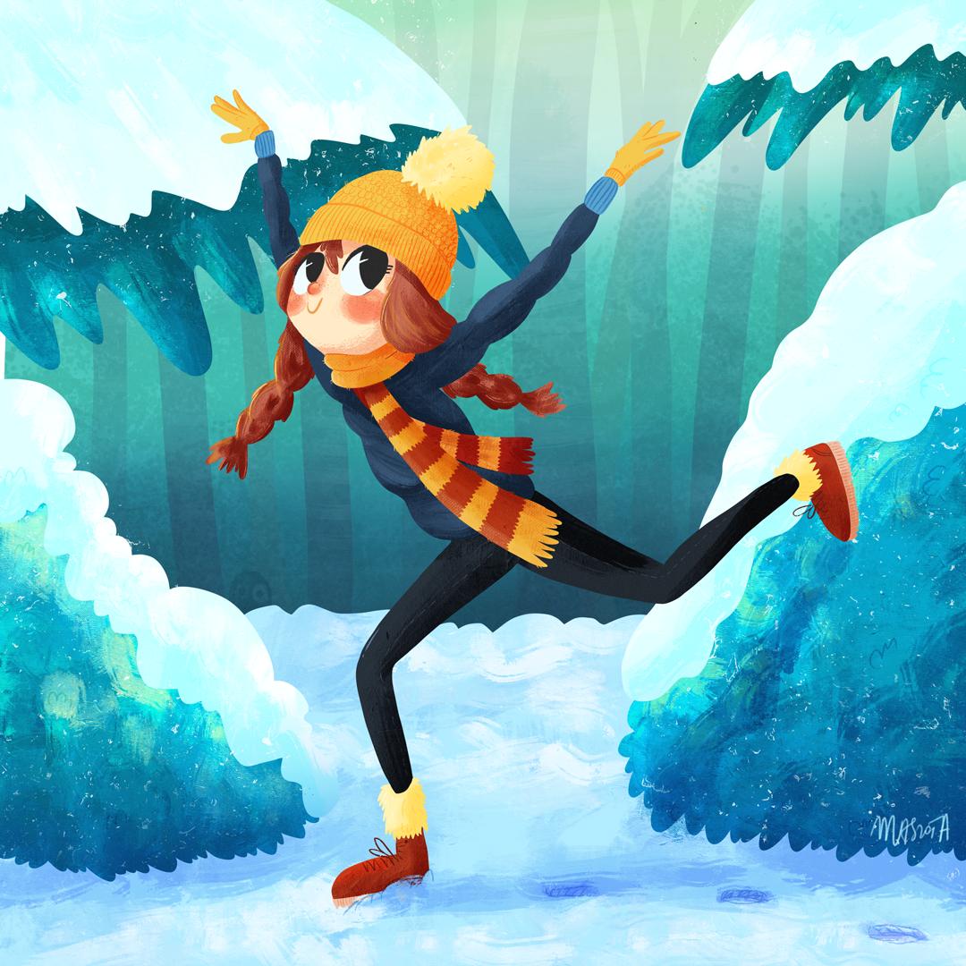 agnieszka maszota winter ballerina